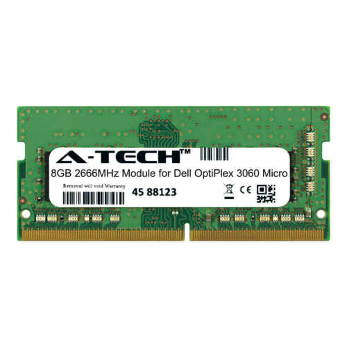 A-Tech 8GB 2666MHz DDR4 RAM for Dell OptiPlex 3060 Micro Desktop Memory Upgrade
