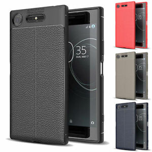 Luxury-Soft-Silicone-Case-Leather-Skin-Shockproof-Cover-For-Sony-Xperia-XZ1-XZS