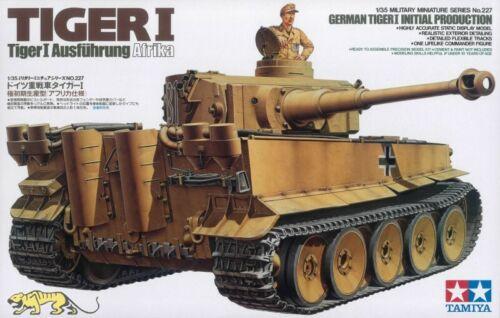 Tiger I Initial Produktion 1:35 Tamiya 35227 Tiger Ausführung Afrika