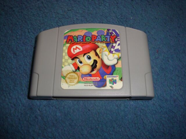Mario Party for Nintendo 64 (1999)European Version pal