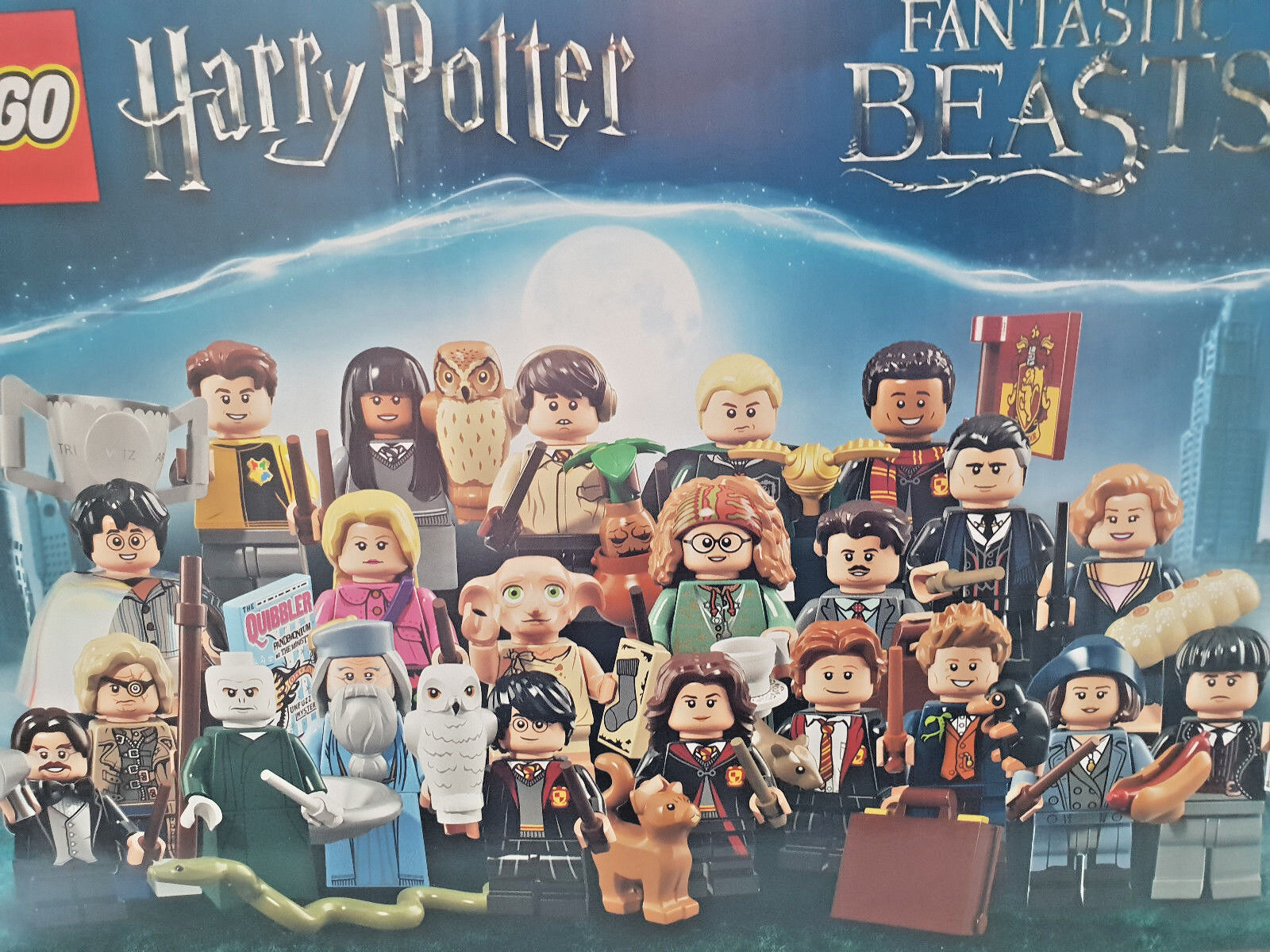 Lego 71022 Harry Potter™ Fantastic Beasts™ Auswählen - Alle 22 Minifiguren Neu