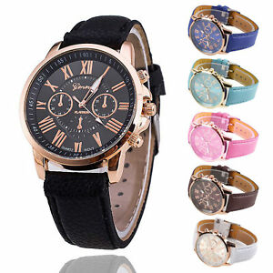 Ladies-Women-Mens-Girls-Analog-Quartz-Wrist-Watches-Trendy-Leather-Strap