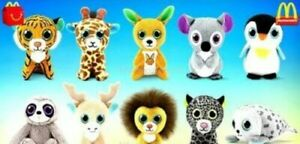 2021 McDONALD'S TY TEENIE BEANIE BOOS HAPPY MEAL TOYS! PICK YOUR FAVORITES!