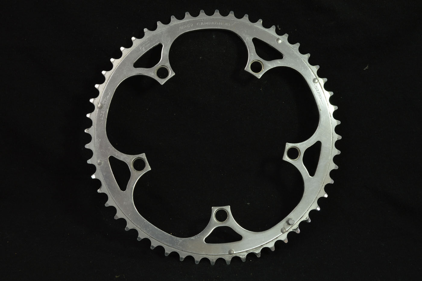 Chainring Campagnolo 52 39 made in italy alloy 52t bcd- 135