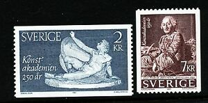 Sweden-1985-The-Royal-Academy-of-Fine-Arts-MNH
