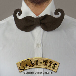 The-Mo-Tie-006-Fashion-Novelty-Nerdy-Bow-Tie-Movember-Moustache-Wedding-Mustache