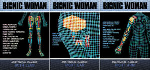 The-Complete-Bionic-Collection-BOX-CASE-TOPPER-3-Card-Insert-Set-CT1-CT2-CT3