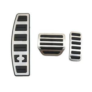AT For Land Rover LR3 LR4 Discovery 3 4 Fuel Gas Brake Footrest Pedal Pad Plate