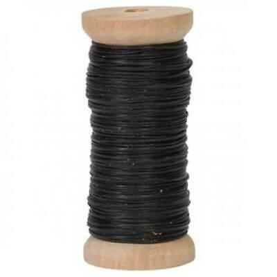 Premium Ritza Tiger Waxed Thread .8mm 50 Meter Spool in 2 colors