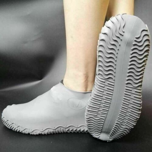 1Pair Recyclable Silicone Overshoes Rain Waterproof Shoe Covers Supply