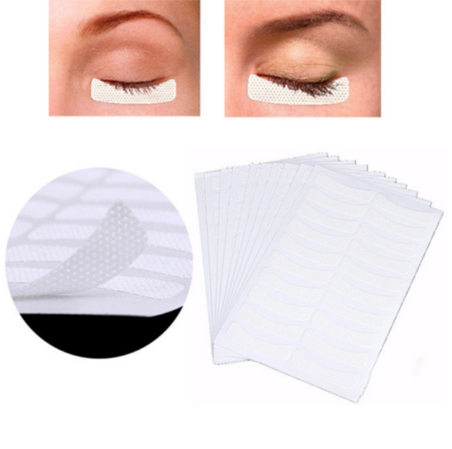 100Pcs Eyelash Extension Fabrics Pads Stickers Patches Adhesive Tape Tool C