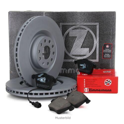 Bremsbeläge ZIMMERMANN Bremsen Kit Bremsscheiben Wako Audi A2 1.2TDI vorne