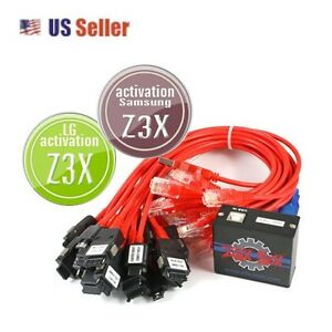 Details about Z3X BOX SAMSUNG PRO + LG ACTIVATED 54 CABLES UNLOCK FLASH  REPAIR READ CODES MSL