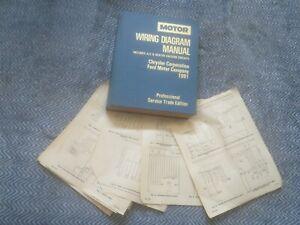 1991 Dodge Shadow Plymouth Sundance Wiring Diagram Schematics Ebay