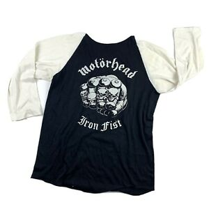 M\u00f6torhead Sweat-shirt Vintage 1980s Lemmy Kilmister Shirt Rare 80s Metal Band Tshirt Pigface Tee