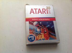REALSPORTS-VOLLEYBALL-ATARI-2600-GAME-CARTRIDGE-CX2666-WITH-MANUAL
