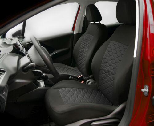 Toyota RAV 4 Schwarz Universal Sitzbezüge Sitzbezug Auto Schonbezüge MODERN