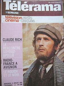 1330-ROBERT-POWEL-CLAUDE-RICH-GARIBALDI-REINE-VICTORIA-JEAN-ROUCH-TELERAMA-1975