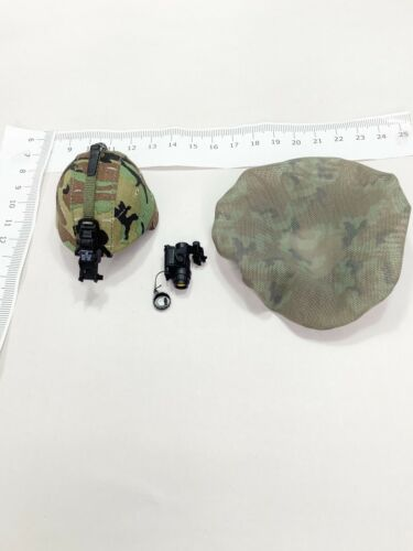 IDF COMBAT INTELLIGENCE 1//6 Dam Toys NVG +Mitznefet Cover PASGT Helmet