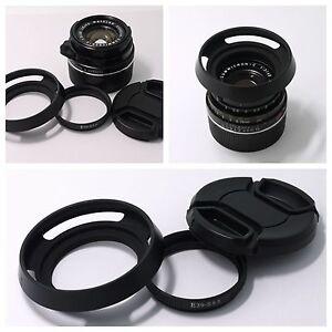 Adapter-Ring-Hood-cap-Leica-E39-to-Summicron-C-40-2-S5-5-f-2-0-Lens-camera