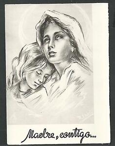 image pieuse antigua de la Virgen holy card santino estampa oFaK1SeK-08025118-104815358