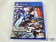 Gundam Breaker 3 Playstation 4 Japanese Import Japan PS4 Region Free US Seller