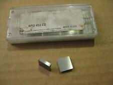 Usa Spg422 Carbide Insert 10pc Lot