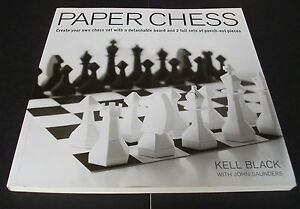 Paper Chess Create Your Own Chess Set With A Detachable