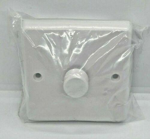 Varilight V-Plus 1 Gang 2-WAY 700 W Halogène Cfl variateur d/'intensité KQP221W-Blanc