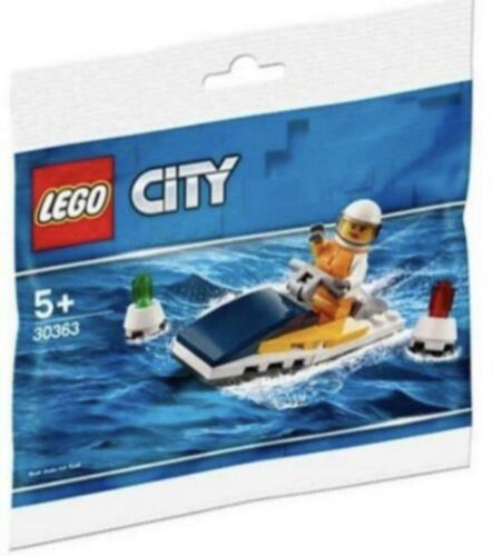 Brand New Lego City Race Boat Jet Ski Polybag Set 30363