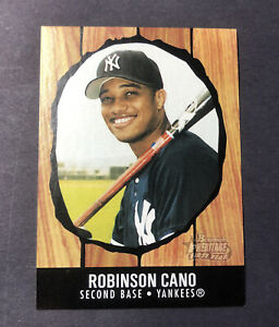 Robinson Cano 2003 Bowman Heritage Rookie Card #210 New York Yankees