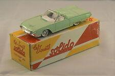 FORD THUNDERBIRD 1963 collection Solido Hachette en boite