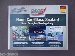 Autoscheiben-Versieglung-NANO-Car-Glas-Versiegelung-Carglas-Set