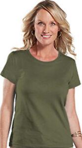 Ladies-Blank-Casual-T-Shirt