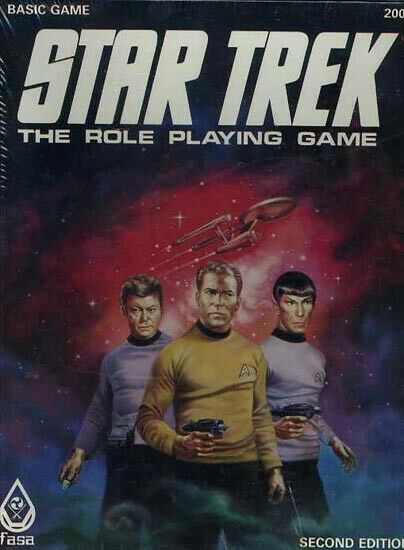 STAR TREK THE ROLE PLAYING GAME SEALED NEW TOS FASA  2004 Boxed Set Shrink Box