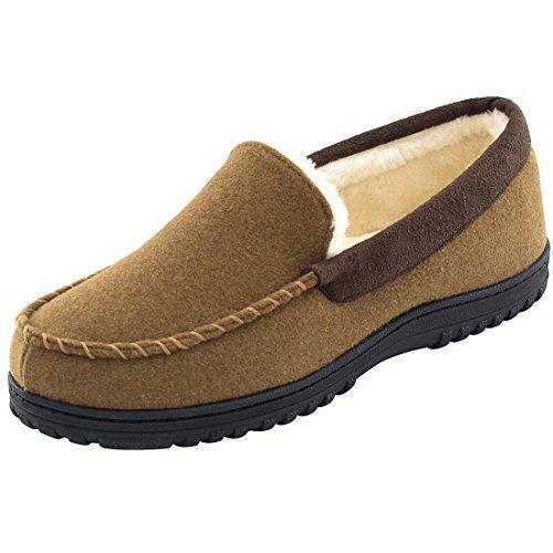Men's Comfy \u0026 Warm Wool Micro Suede