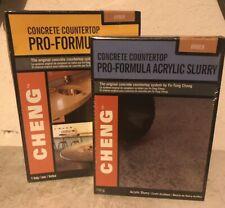 Cheng Concrete Countertop Pro Formula Mix 1 Bag Color And Slurry Mix Amber
