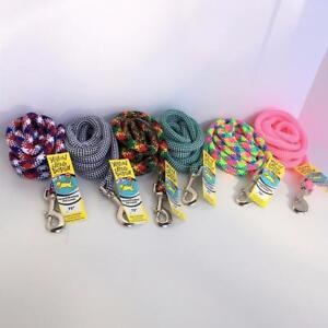 """NEW 72"""" Round Rope Leash by Yellow Dog Design FREE SHIPPING"""
