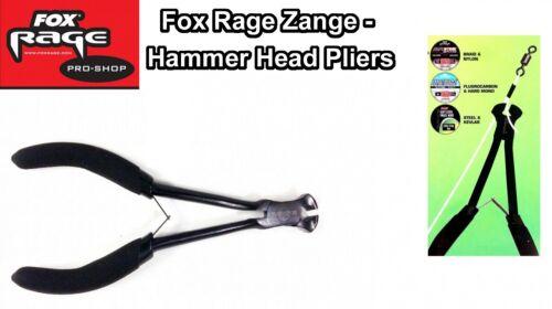 Fox Rage Hammer Head Pliers Seitenschneider Zange