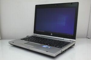 HP EliteBook 2560P Intel Core i5-2520M 8GB RAM 500GB HDD Win 10 Pro Dead Battery