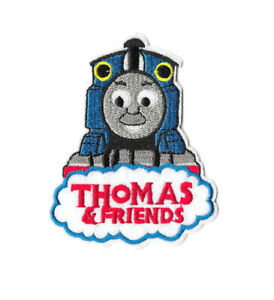 THOMAS-amp-FRIENDS-Iron-on-Sew-on-Patch-Embroidered-Badge-Cartoon-TV-PT406