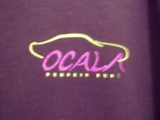 Ocala FL pumpkin Run classic car shows black graphic L t shirt