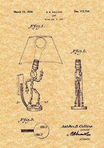 Nice Image Is Loading Patent Print Reddy Kilowatt Lamp 1939 Art Print