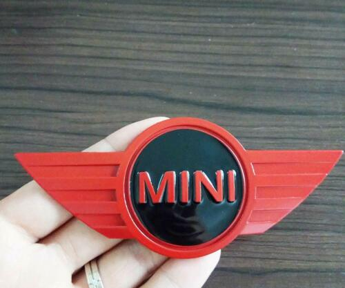 MINI COOPER WORKS ONE CAR REAR BOOT RED-BLACK REPLACEMENT BADGE LIMITED EDITION
