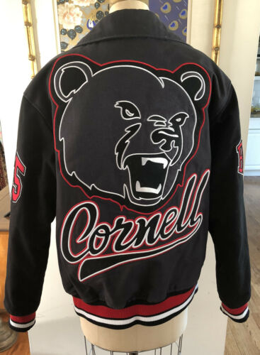 Stall and Dean Cornell University Bears Letterman