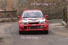 Jean-Marc Sanchez Mitsubishi Lancer Evo VI Tour De Corse Rally 2001 Photograph