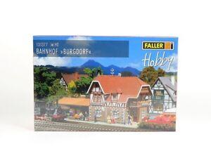 Faller-H0-131377-Bahnhof-Burgdorf-neu-OVP