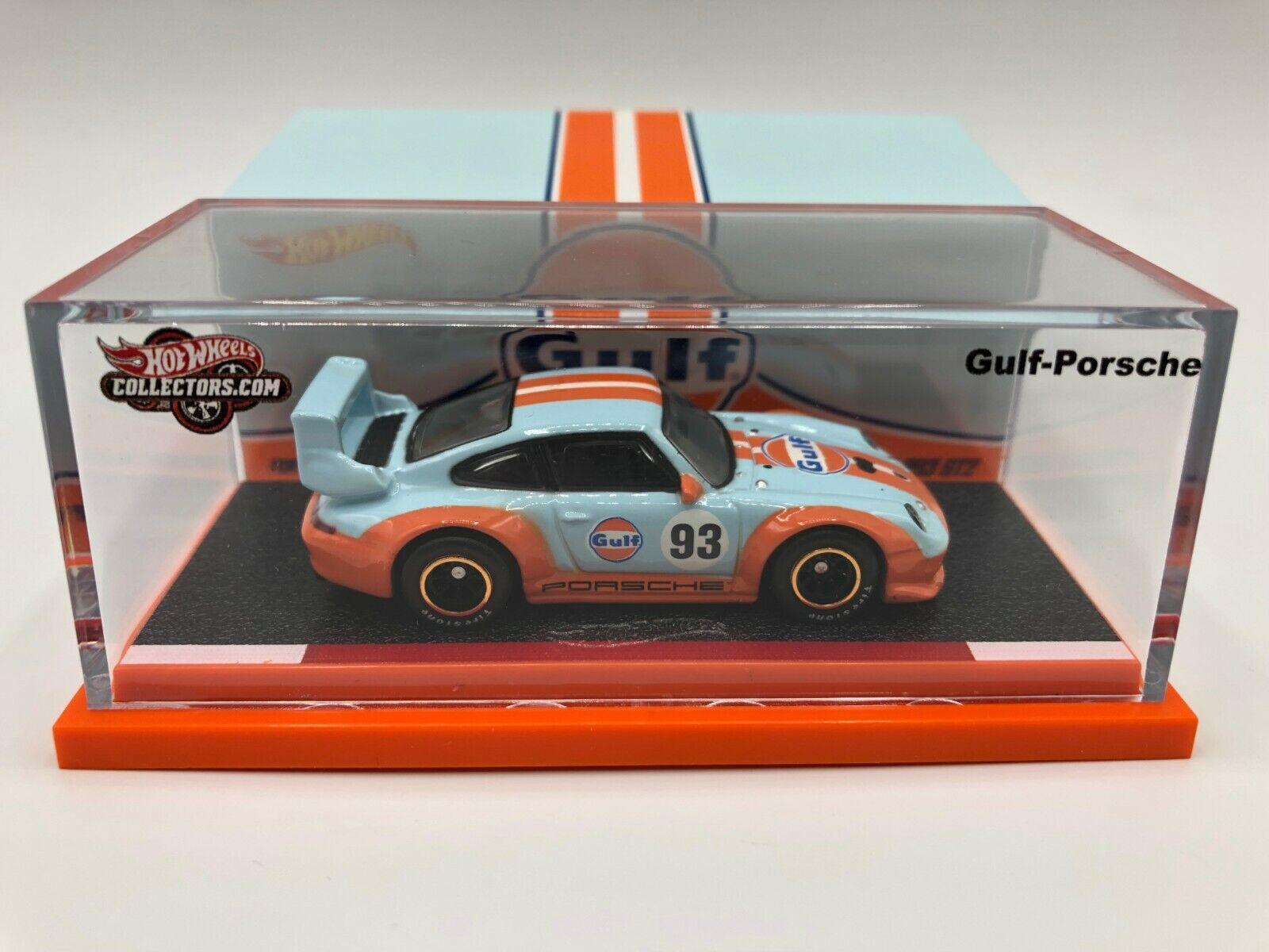heta hjul Gulf -Porsche in Mint Condition In & Out Jag måste se Herregud
