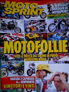 Motosprint 40 1993 Harada- Capirossi A Confronto Vincitori, Vinti. Salone Parigi Retarder La SéNilité
