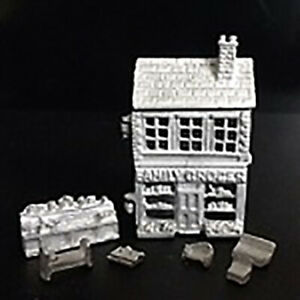 1-12-Scale-Dolls-House-Family-Grocer-toy-dollshouse-H542U-Pewter